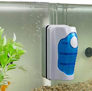 JRing Aquarium Glasreiniger, Magnetischer Aquarium-Glasreiniger, Aquarium Reiniger Algen..