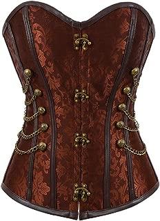 Waist Cincher Corset Women's Gothic Steampunk Corset Bustier Underbust Vest Top