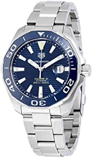 Tag Heuer Men's WAY201B.BA0927 Aquaracer Calibre 5 Automatic 300m Ceramic Bezel Watch