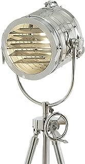 BRASS NAUTICAL MARINE SIGNAL TRIPOD LAMP