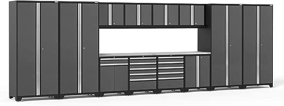 NewAge Products Pro 3.0 Gray 14 Piece Set, Garage Cabinets, 52144