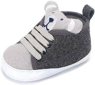 LACOFIA Sneaker Bambino Scarpe Primi Passi con Suola Morbida Antiscivolo per Neonato
