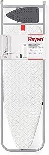 Rayen | Tabla de Planchar para pared, puerta y armario | Reposaplanchas de Silicona | Con Esmpuma | Color: Gris | Medidas ...