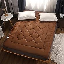 Japanese Floor Futon Mattress,Mattress Tatami Floor Mat Portable,Futon Quilting Mattress Topper,Foldable Roll Up Sleeping ...