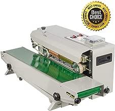 Commercial Bag Sealers, vinmax Continuous Sealing Machine Automatic Sealing Sealer Machine Automatic Horizontal Continuous Plastic Bag Band Sealing Sealer Machine