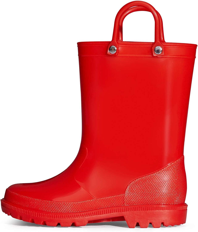 K Store KomForme Kids Rain Boots Regular dealer Boys Girls Wate Toddler