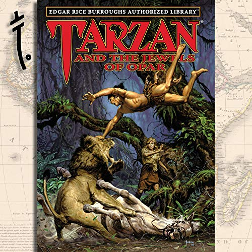 Tarzan and the Jewels of Opar  By  cover art