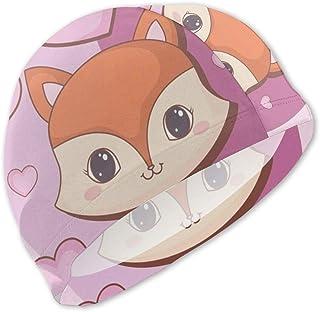 Gorro de baño Kawaii Animals para niños Gorro de baño para niños