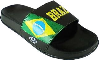 ellemme Ciabatte A Fascia Super-Leggere Brazil Calcio Originali flagband Carioca