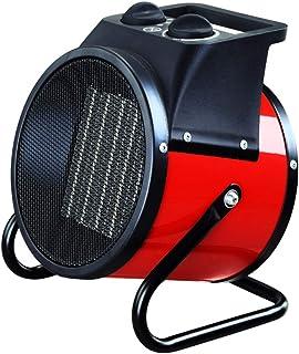 Radiador eléctrico MAHZONG Calentador de Ventilador Industrial de 2KW con termostato Ajustable para Taller de Garaje Invernadero Flota de cobertizo