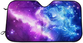 UHSDGV Wolf's Paradise Galaxy.jpgWindshield Visor - Keeps The Car Cool from The Sun's Heat and Glare - Window UV Reflector Outdoor Vehicle Accessories - Keep Your Car Cool