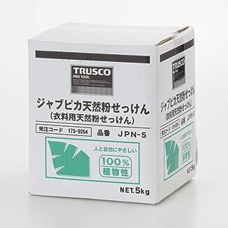 TRUSCO(トラスコ) ジャプピカ天然粉せっけん 5kg (1個=1箱) JPN-5