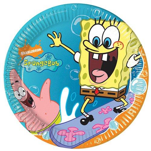 Nickelodeon Spongebob Schwammkopf Papier-Servietten