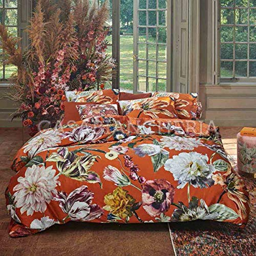 ESSENZA Home Duvet Cover Set Filou Caramel-Orange