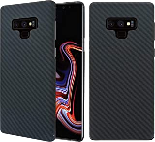 Galaxy Note 9 Case, 0.7mm Ultra Thin Real Aramid Fiber [Real Body Armor Material] Carbon Fiber Pattern Protective Case Cover for Samsung Galaxy Note 9 2018 Release