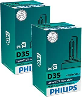 PHILIPS Xenon X-TremeVision Gen2 +150% D3S HID Xenon Bulbs Set Of Two 42403XV2C1 - coolthings.us