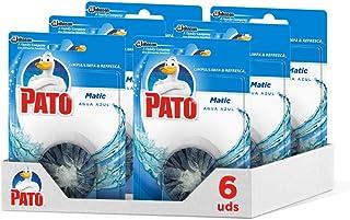 comprar comparacion Pato - Matic limpiador y ambientador para inodoro, pastilla para cisterna, 1 Pack of 6 unidades