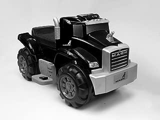 Beyond Infinity 6V Ride On Mack Truck in Battery Powered Wheels Kids Ride On, Black, 26.38 x 14.17 x 15.11