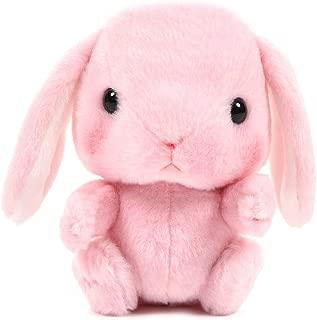 Amuse Bunny Plushie Stuffed Animal Japanese Rabbit Standard Size Pink