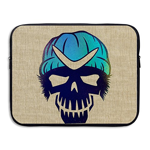 Volte suicidio película Squad tarea Comic fuerza X Character Logo resistente al agua funda para portátil caso