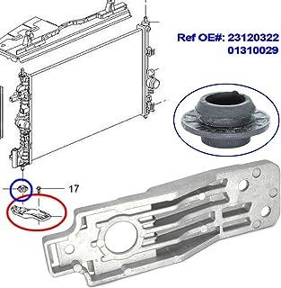 Soporte de radiador Tickas soporte de radiador inferior de repuesto para Vauxhall//Opel Insignia 2008-2017 23120322 01310029