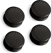 Fosmon [Set of 4] Analog Stick Joystick Controller Performance Extended Thumb Grips for PS4 | PS3 | Xbox One | Xbox 360 | Wii U (Solid Black)