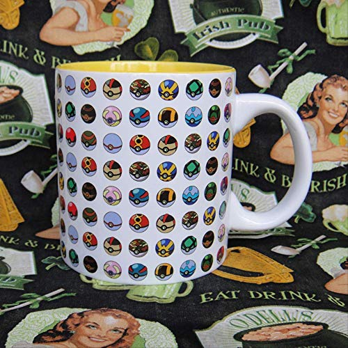 Pokemon Pokemon Go Ball Atlas Ceramic Mug