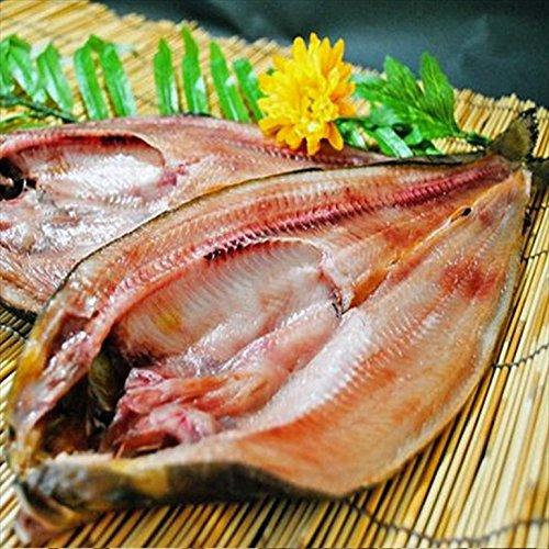 北海道羅臼産 干し具合 塩加減とも最高の開きほっけ大 5枚入り ホッケ 干し魚