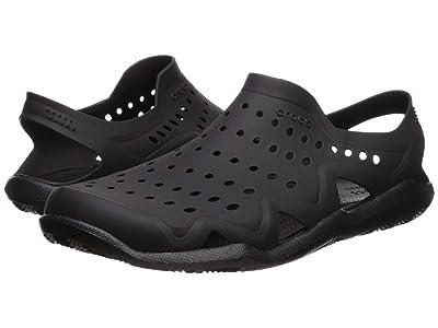 Crocs Swiftwater Wave (Black/Black) Men