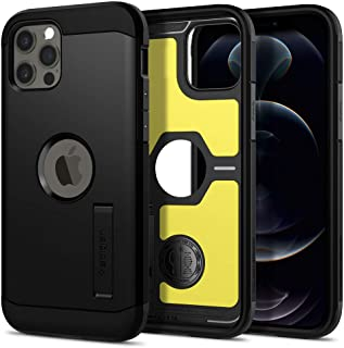 Spigen Tough Armor ACS01710 Compatible with iPhone 12 / iPhone 12 Pro Case Shockproof Protective Layer Mobile Phone Case B...