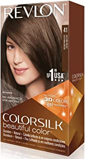 Revlon ColorSilk Haircolor, Medium Brown (Pack of 3)