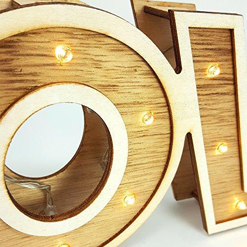 """LED Leuchtschrift """"LOVE"""" - 5"""