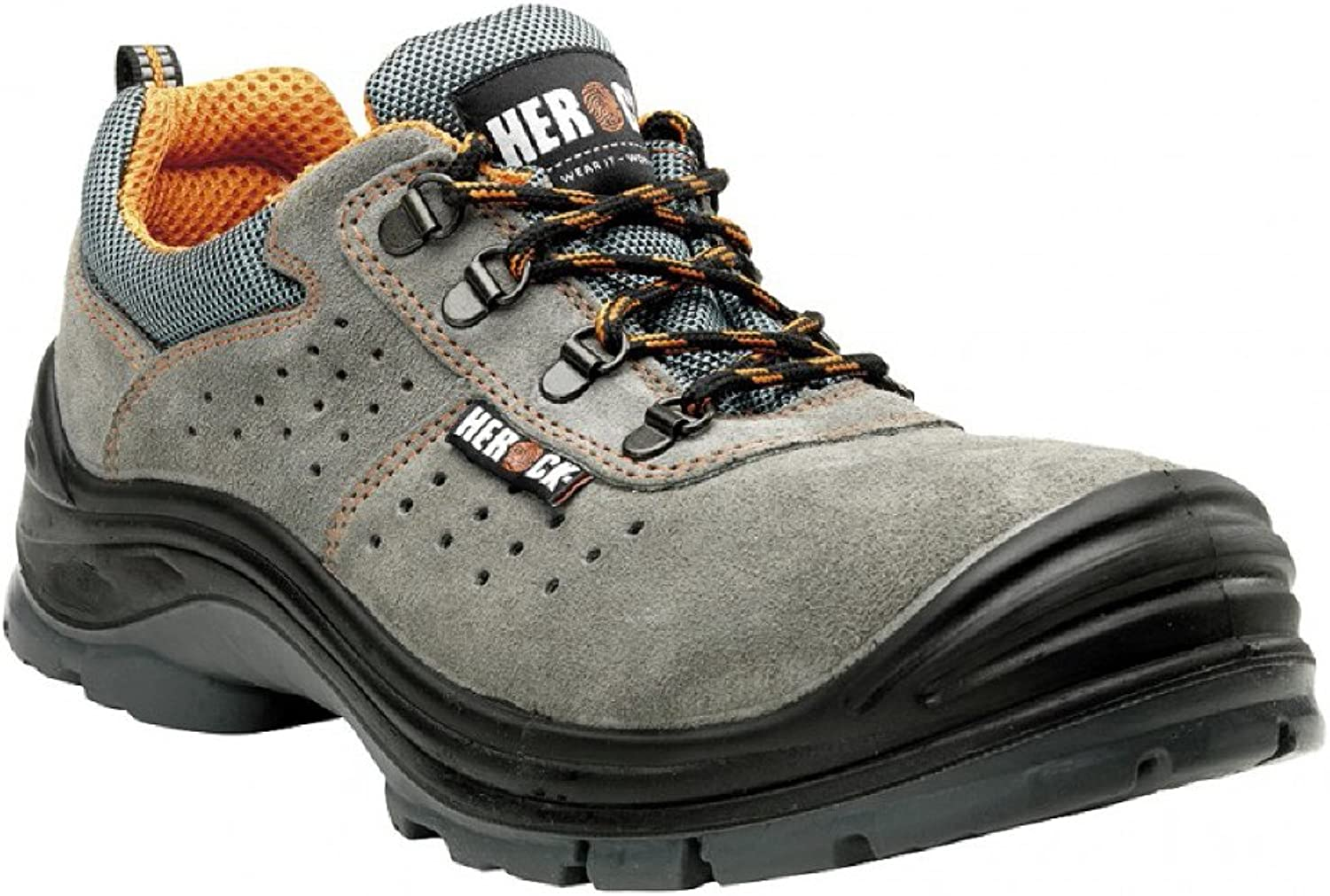 Punch Compo S1P Grey Low shoes - Safety shoes Soul Rebel Footwear