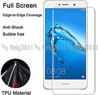 Full Cover Soft TPU Screen Protector Film for Huawei Ascend XT2 H1711, Y7/Y7 Prime (2017), Honor Holly 4 Plus, Nova Lite+, Enjoy 7 Plus, GW Metal TRT-L21A LX1A L53 L23 LX3 L22 LX2 TL00 L21 LX1 (5.5
