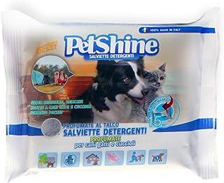 PETSHINE Toallitas de Viaje para Perros, Gatos y Cachorros.