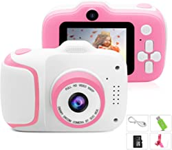 $35 » Kids Camera, Best Birthday Gifts for Girls Age 3-9, HD Digital Video Cameras for Toddler, Portable Toy for 3 4 5 6 7 8 9 Y...