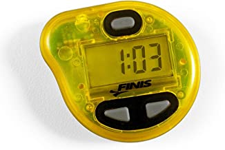 FINIS Geavanceerde akoestische metronoom voor het zwemmen tempo trainer Pro, geel, één maat