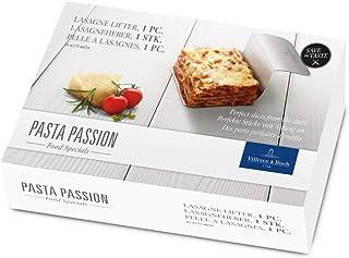 Villeroy & Boch Pasta Passion Recogedor de lasaña, Acero Inoxidable 18/10, Blanco, 1 pieza