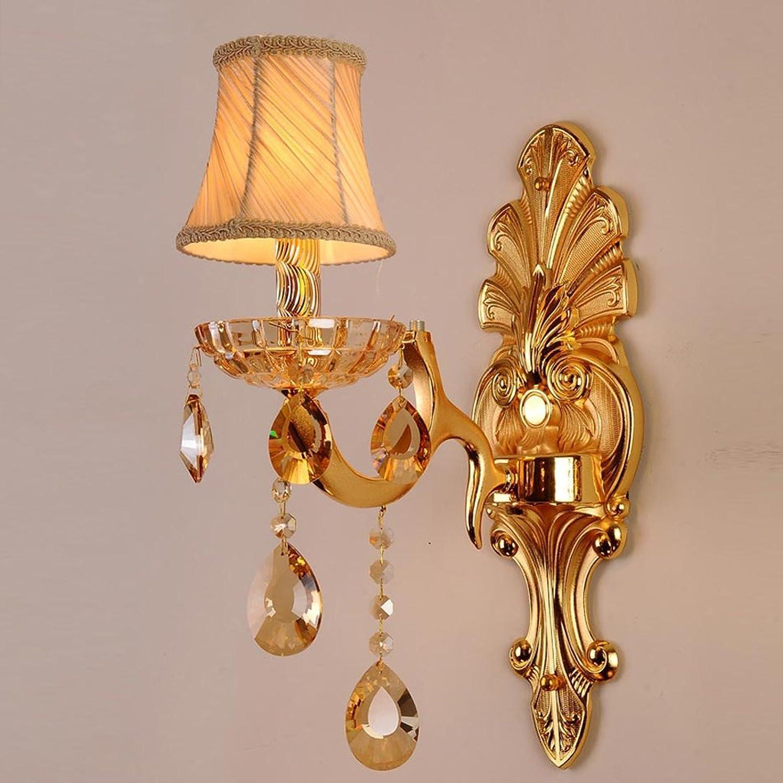 QFF Crystal Wandleuchte Spiegel Vorne Licht Schlafzimmer Lichter Nachttisch Lampen Gang Lichter Restaurant Europische Stil Moderne Wand Lampe