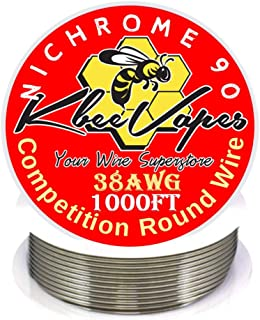 Kbee's 1000 ft - 38 Gauge AWG Nichrome 90 Resistance Wire 1000' Length