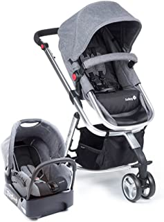 Travel System Mobi Safety 1st, Grey Denin Silver
