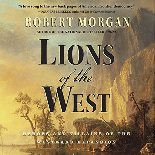 Lions of the West audiobook cover art