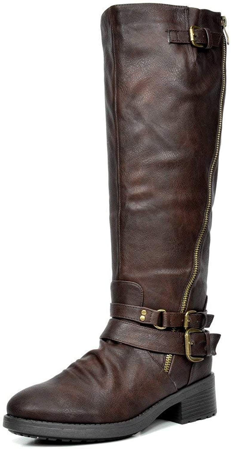 PRETTYHOMEL Women's Knee High and up Riding Boots (Wide-Calf)(0 0)