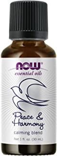 NOW Essential Oils, Peace & Harmony Oil Blend, Calming Aromatherapy Scent, Blend of Pure Essential Oils, Vegan, Child Resi...
