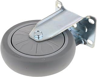 5 inch / 125mm PTFE Heavy Duty Caster Top Plate Vaste Caster met 8,5 mm Dia Montage Hole, Duurzaam en slijtvast