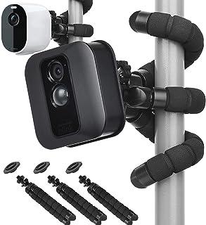 3 Pack Flexible Tripod Mount for Blink XT2/XT,Blink Mini,Blink Outdoor/Indoor Camera,Arlo Pro 2/Pro 3/Pro 4,Arlo Ultra/Ult...