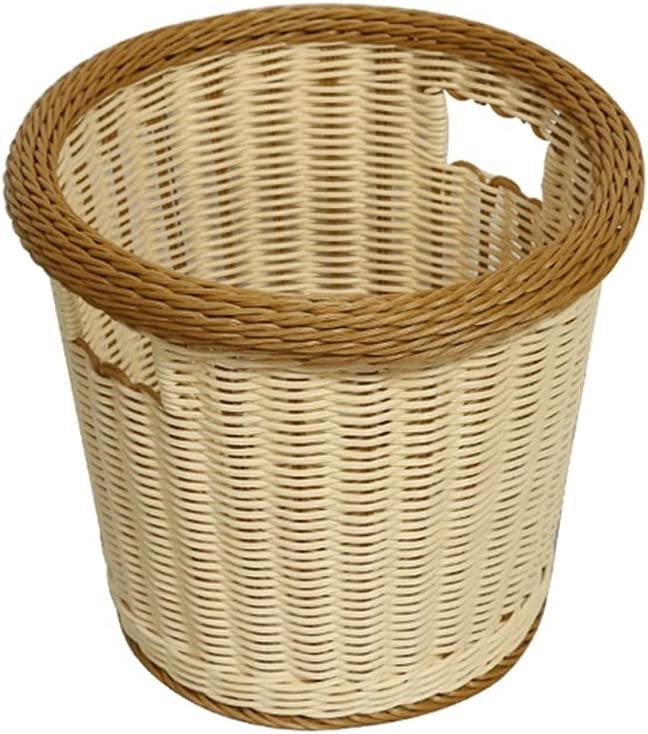 BKWJ Storage Basket Limited time for free shipping Rattan Baskets Laundry Ranking TOP8 Fabric