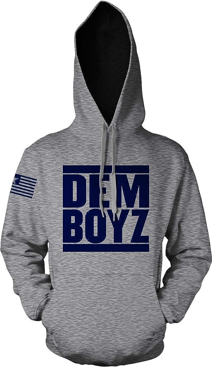 Millionaire Mentality Dem Boyz Grey Hoodie