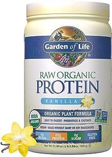 Garden of Life Raw Organic Plant Based Protein Powder Shake with Probiotics & Enzymes, Certified Vegan, Gluten & Sugar Fre...