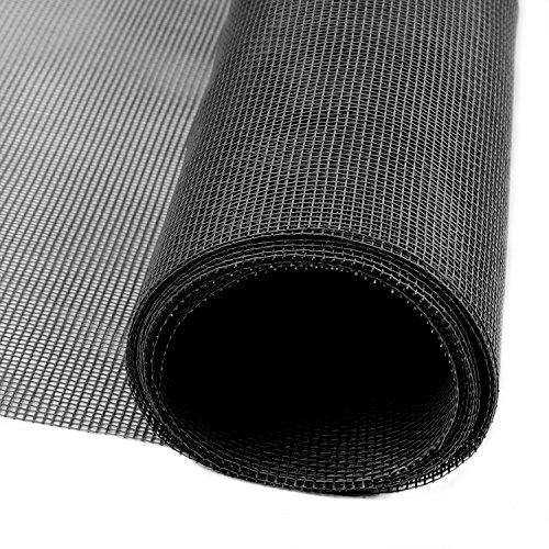 網戸 張り替え 網戸ネット グラスファイバー 網戸 補修 防虫網 黒色 122×252cm